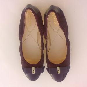 Cole Haan Women's Plum Purple flat shoes
